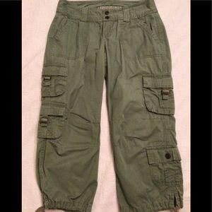 Denim - Aeropostal Camo Green Capri Pants